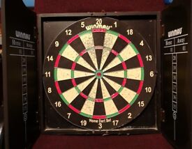 Winmau Dart Board In Cabinet Open To Any Decent Offers