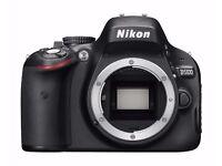 Nikon D5100 DSLR Camera .