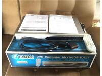Funai DVD Recorder / Player, Model DR B3737, Silver, With Remote and Box