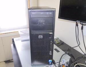 HP Z200 Tower Desktop PC Xeon X3440 2.53GHz 4GB 500GB DVDRW W7Pro Quadro NVS295
