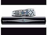 Sky HD + box with remote and multiroom sky box