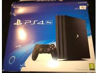 Sony PS4 Pro 1tb boxed as new CoD