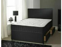 ⭐🆕DIVAN BEDS IN - SINGLE, DOUBLE, KINGSIZE WITH STORAGE OPTION HEADBOARDS AND CHOICE OF MATTRESS