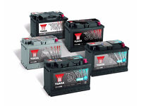 Old or Dead - Car or leisure batteries wanted in the ipswich/surrounding areas Free Collection