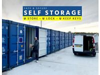 Storage Container Unit To Rent For Business & Personal Use - Self Storage Stoke - UStore ULock