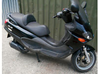 Piaggio X9 125 2001 16k Fully serviced New Tyre Full Years MOT. X8 X7 Burgman S-wing