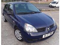 Renault Clio Campus 1.5 CDi (2007)3dr manual, Diesel, £30 p.a RFL 64 MPG -Bargain