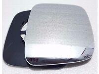 Left passenger side for Peugeot Bipper 2008-2015 wing mirror glass