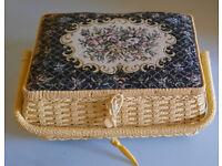 Floral Printed Sewing Box