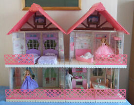 HORNBY WORLD OF CASSY DOLLS AND HOUSE 1990'S