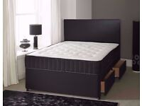 Special offer! Double / King Size Divan Bed And Mattress Free Delivery