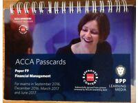 ACCA F9 FINANCIAL MANAGEMENT - BPP PASSCARDS
