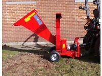 NEW Oxdale PTO Driven Chipper. Runs off 15 to 50 hp tractor PTO.