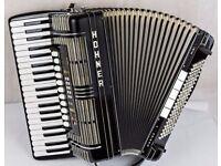 Hohner Morino V S - MIDI-C Accordion - 5 Voice Double Cassotto 120 Bass HMR