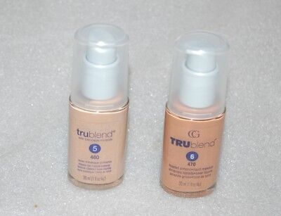 NEW !!!!    COVER GIRL TRUBLEND LIQUID MAKE-UP FOUNDATION      PICK YOUR COLOR