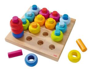 HABA 2202 - Steckspiel Farbkringel günstig kaufen