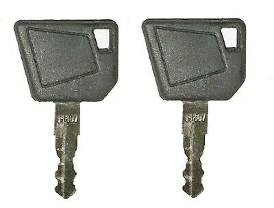 2 Jcb Heavy Equipment Ignition Keys Fit Many Makes Of Equipment Case Cat Volvo