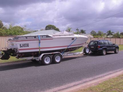 Scarab 2600 Boat 496MAG HO Bravo 3 leg (For project)