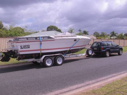Wellcraft Scarab******1988,496 MAG HO+Bravo 3 S/D Leg are 2005 Ningi Caboolture Area Preview