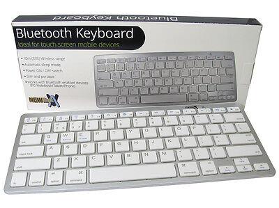 Bluetooth 3.0 Keyboard iPad iMac iPhone Mobile Tablet iOS Android Windo Keyboard