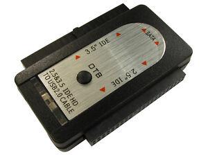 USB SATA/ IDE EXTERNAL HDD ONE BUTTON CLONER 3.5