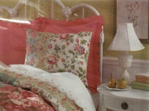 Liz Claiborne Home Pillow Sham Standard AVRIL Floral New