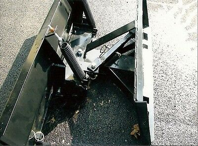 New 9108 Snow Plow Skid Steer Loadertractor Pusher Bobcat Cat John Deere