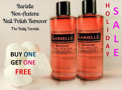[HOLIDAY SALE BOGO FREE] BARIELLE Non-Acetone Nail Polish Remover 4oz [US-MADE] Barielle Acetone Free Nail Polish Remover