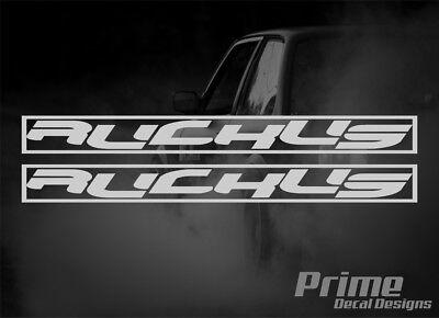 "HONDA 1988-1999 CR125 CR250 GRAPHICS WRAP /""RUCKUS/"" DECAL KIT WITH RIM GRAPHICS"