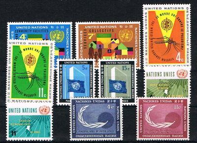 UNO NEW YORK UN NY JAHRGANG 1962 MINR 114 123 MNH YEARSET 9534
