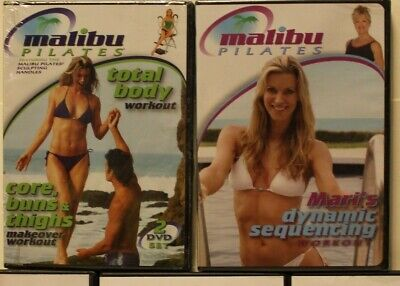 New 2 Pilates Chair workout DVD Malibu Mari Winsor dynamic sequencing total body for sale  Belton