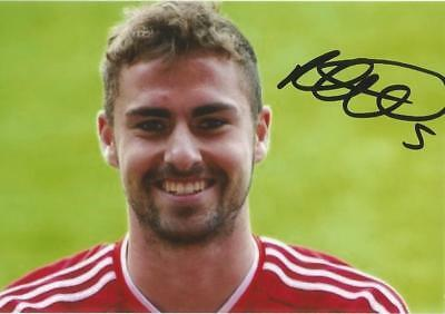 ABERDEEN: CLARK ROBERTSON SIGNED 6x4 PORTRAIT PHOTO+COA