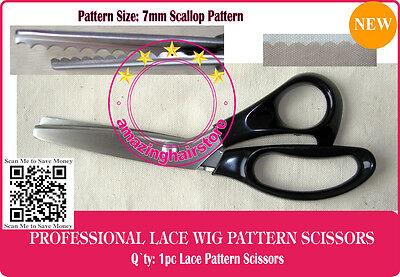 7mm arc pattern clothes wig lace scissors