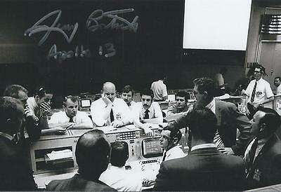Jerry Bostick signed/autograph NASA Mission Control Apollo Program Space LOOK!