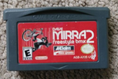 Dave Mirra Freestyle BMX 2 Nintendo Game Boy Advance, 2001 Game Only - $6.99