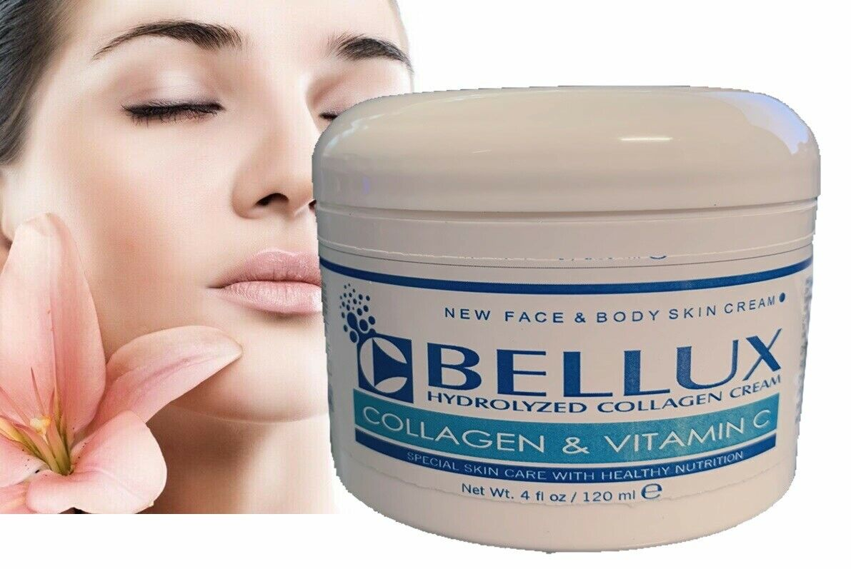 COLLAGEN & ELASTIN SKIN CREAM Firming Face Care Anti Aging Wrinkle Beauty 8 oz