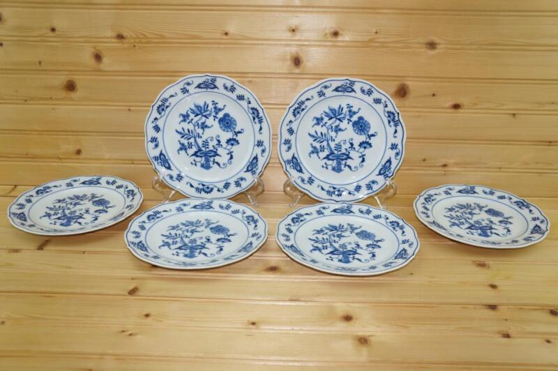 Blue Danube BLUE DANUBE (6) Bread & Butter Plates   Japan Discontinued