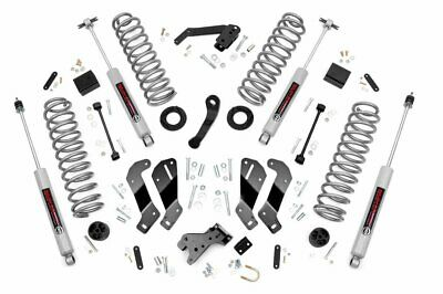 "Rough Country 3.5"" Lift Kit (fits) 2007-2018 Jeep Wrangler JK 4DR 