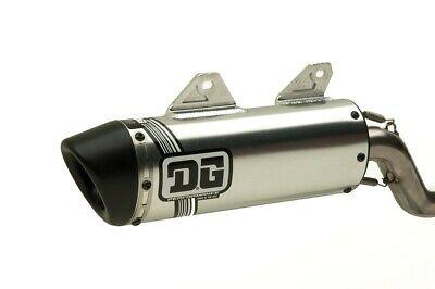 DG V2 Slip On Exhaust, Pipe , Muffler, Yamaha TW200; 071-4204