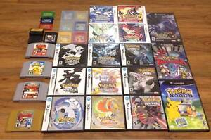 POKEMON GAMES (From the original Blue, Red, Yellow - X&Y) Newcastle West Newcastle Area Preview