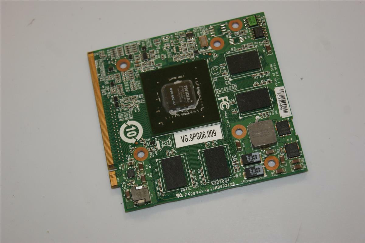 Acer Aspire 6930G Nvidia Notebook Grafikkarte 9600M GT VG.9PG06.009 #54747
