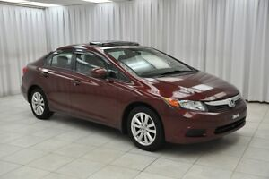 2012 Honda Civic LX 5SPD SEDAN w/ BLUETOOTH, USB/AUX PORTS, SUNR