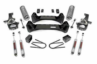 """Rough Country 6"""" Lift Kit (fits) 2002-2005 Dodge Ram 1500 2WD w/N3 Shocks"""