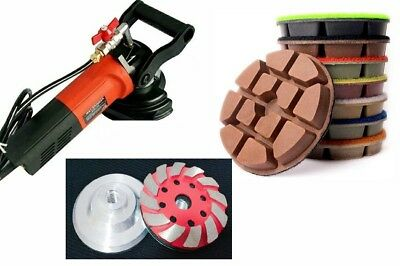 Wet Polisher Marble Granite Concrete Countertop Floor Renew Polishing Pad Cup