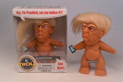 Donald Trump Troll Doll Kickstarter by Chuck Williams President NEW