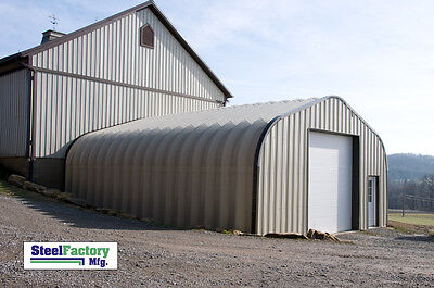 Steel Residential P25x30x13 Hotrod Garage Prefab Metal Panel Shop Building Kit