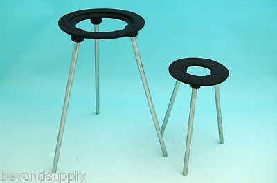 Lab Cast Iron Burner Stand Tripod 6 Inch New