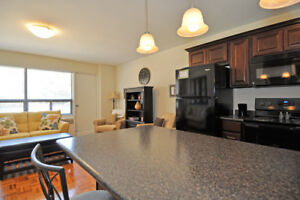 Desirable location has rare 2 bedroom for Oct  $1060!