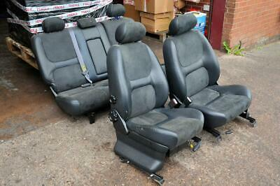 Land Rover Freelander 1 5-door black half leather seats set