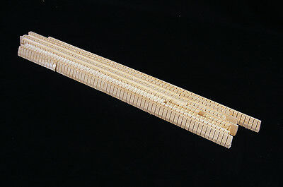 "Basswood Kerfing 144"" of mixed lengths, Kerfed Kerf Ribbon Lining Guitar Ukulele"